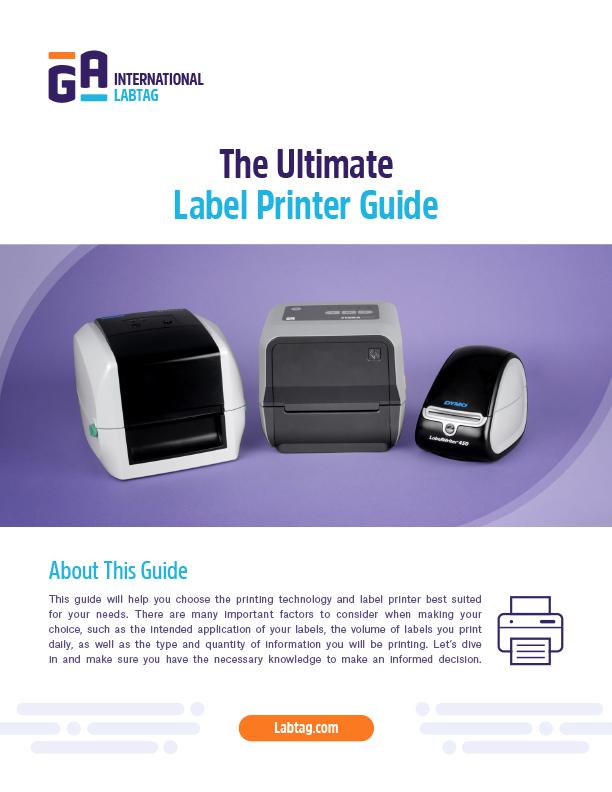 Einkaufsführer für Etikettendrucker